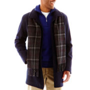 Dockers® Walking Coat w/Scarf