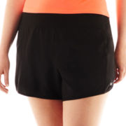 Xersion™ Solid-Waistband Shorts - Plus