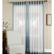 Elrene Ella Tab-Top Curtain Panel