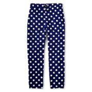 Kandy Kiss® Dot Print Challis Pants - Girls