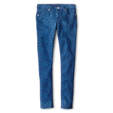 jcpenney.com | Levi's® Fiona Flocked Denim Leggings - Girls 7-16
