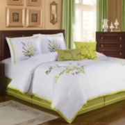 Natures Way  6-pc. Leaves Comforter Set