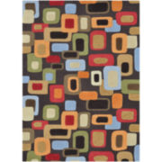 Loloi Aurora Block Rectangular Rugs