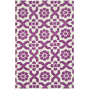 Loloi Piper Plum Fairies Rectangular Rug