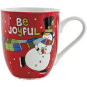 Fitz and Floyd® Be Joyful Set of 2 Mugs