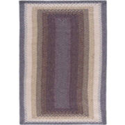 Nourison® Retro Cool Braid Rectangular Rug
