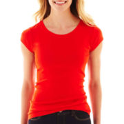 jcp™ Short-Sleeve Crewneck Tee