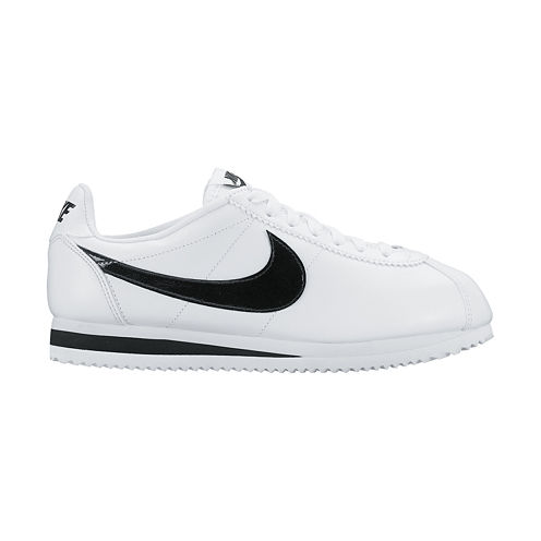 Nike® Classic Cortez Leather Womens Running Shoes