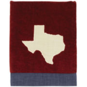 Avanti Texas Star Hand Towel - Map