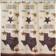 Avanti Texas Lone Star Shower Curtain