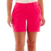 St. John's Bay® Cargo Shorts - Plus