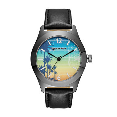 jcpenney.com | Arizona Mens Los Angeles Black Strap Watch