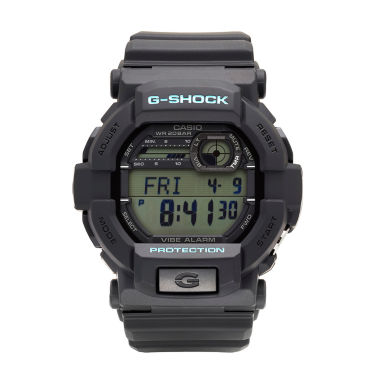 jcpenney.com | Casio® G-Shock Mens Black and Blue Auto LED Strap Watch GD350-1C