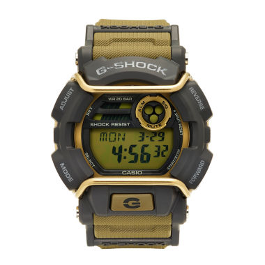 jcpenney.com | Casio® G-Shock Mens Tan and Gray LED Strap Watch GD400-9