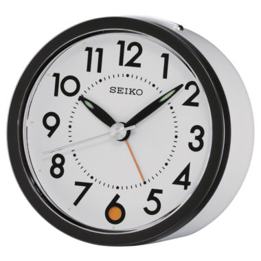 jcpenney.com | Seiko® Bedside Snooze Alarm Clock QHE096WLH