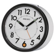 Seiko® Bedside Snooze Alarm Clock QHE096WLH