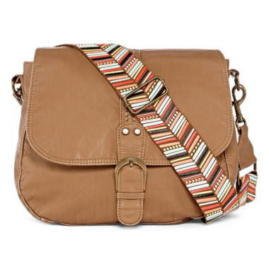 jcpenney.com | Arizona Saddle Crossbody Bag