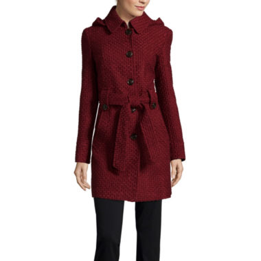 jcpenney.com | Liz Claiborne® Belted Pea Coat