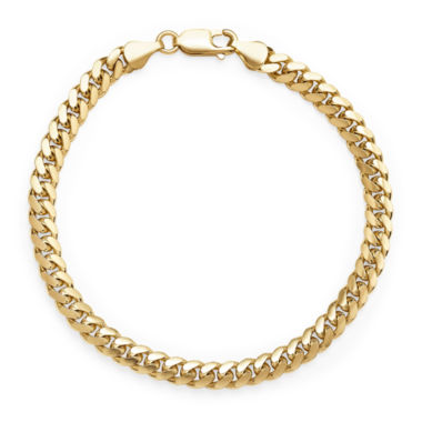 jcpenney.com | 14K Yellow Gold Solid 8.5 In Grumetta Link Bracelet