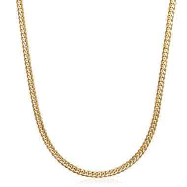 jcpenney.com | Made in Italy 14K Yellow Gold Solid 22 In Curb Link Necklace