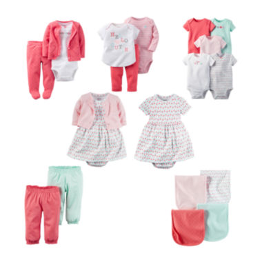 jcpenney.com | Carter's® Baby Essentials Collection - Baby Girls newborn-24m