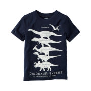 Carter's® Short-Sleeve Navy Dino Knit Tee - Boys 4-8