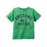 Carter's® Short-Sleeve Green Brother Knit Tee - Boys 4-8