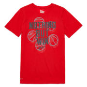 Nike® Short-Sleeve DRI-Fit Graphic Tee - Boys