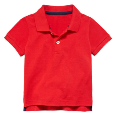 Arizona Short-Sleeve Cotton Polo - Baby Boys 3m-24m
