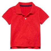 Arizona Short-Sleeve Cotton Polo - Baby Boys 3m-24m