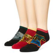 Warner Bros. Harry Potter® 3-pk. Low-Cut Socks