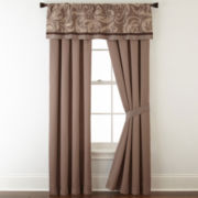 Liz Claiborne® Mallorca 2-pk. Rod-Pocket Curtain Panels