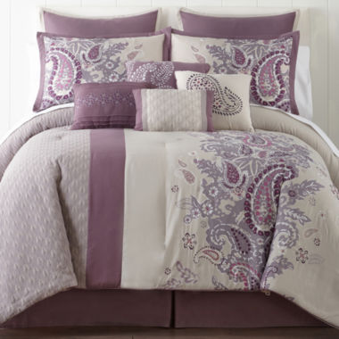 jcpenney.com | Home Expressions™ Kacey Paisley Comforter Set & Accessories
