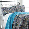 Pacific Coast Textiles Carly Reversible Quilt Set