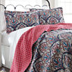 Pacific Coast Textiles Sanya Reversible Quilt Set