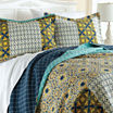 Pacific Coast Textiles Taurus Reversible Quilt Set