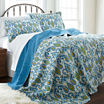 Pacific Coast Textiles Zanya Reversible Quilt Set
