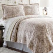Serta® Faux-Fur Sherpa 3-pc. Reversible Comforter Set