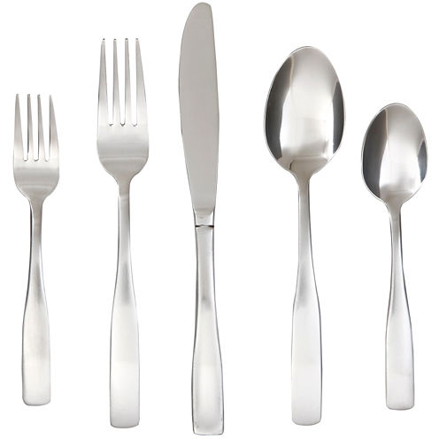 Cambridge ® Silversmith Madison Satin 65-pc. Flatware Set