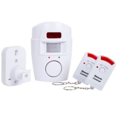 jcpenney.com | Everyday Home Wireless Motion Sensor Alarm with Two Wireless Remotes