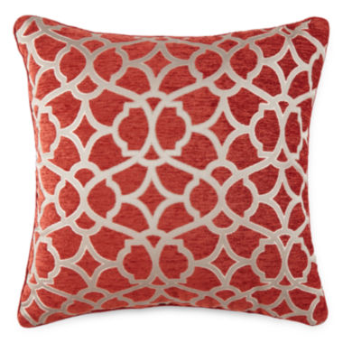 jcpenney.com | JCPenney Home™ Gallery Square Chenille Decorative Pillow