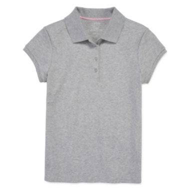 jcpenney.com | IZOD® Short-Sleeve Interlock Polo - Girls 7-16 and Plus