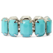 Total Girl® Faceted Stone Stretch Bracelet