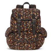 Olsenboye® Ditsy Print Corduroy Backpack