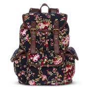 Olsenboye® Floral Corduroy Backpack