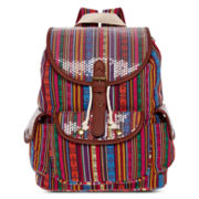 Olsenboye® Striped Sequined Backpack