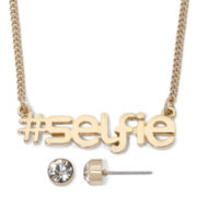 Decree® #Selfie Necklace and Earrings