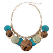 Mixit™ Shaky Graduated Disc Bead Necklace