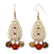 Mixit™ Filigree Teardrop Earrings