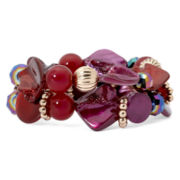 Mixit™ Beaded Double-Row Stretch Bracelet
